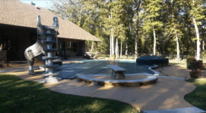 Pool Cover with Separate Spa Cover